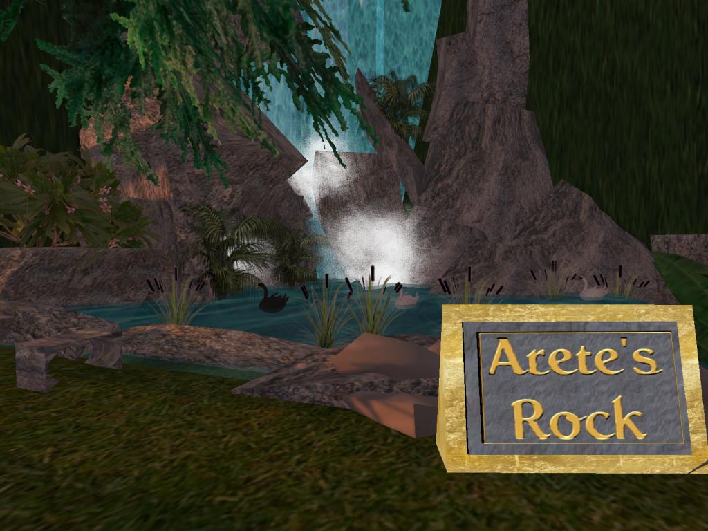 Arete's Rock