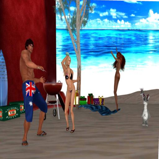 Australian Christmas - beach party
