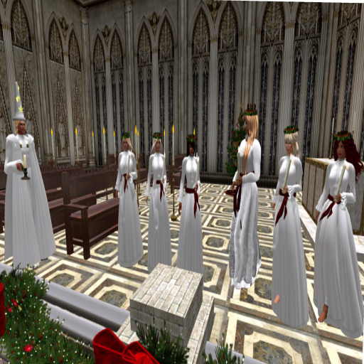 St Lucia's Day - procession2