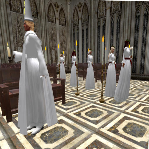 St. Lucia's Day - procession